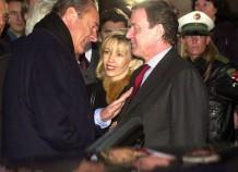Jaques Chirac und Gerhard Schröder